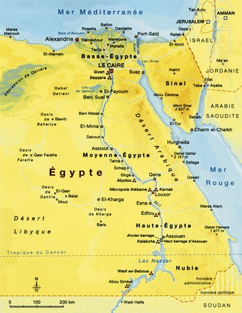 Egypte carte 350x350